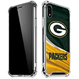 Skinit Clear Phone Case Compatible with iPhone XR - Officially Licensed NFL Green Bay Packers Design