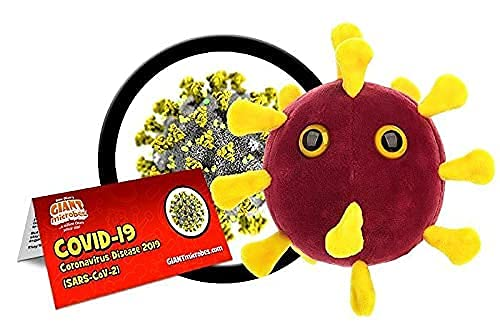 GIANTmicrobes COVID-19 Plush