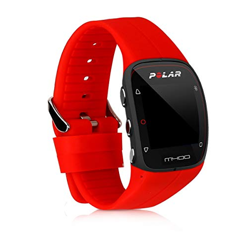 kwmobile Pulsera Compatible con Polar M400 / M430 - Brazalete de Silicona en Rojo sin Fitness Tracker