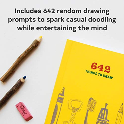 642 Things to Draw: Inspirational Sketchbook to Entertain and Provoke the Imagination (Drawing Books, Art Journals, Doodle Books, Gifts for Artist)