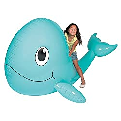 Jumbo Inflatable Whale - Large Pool Inflatable Whale