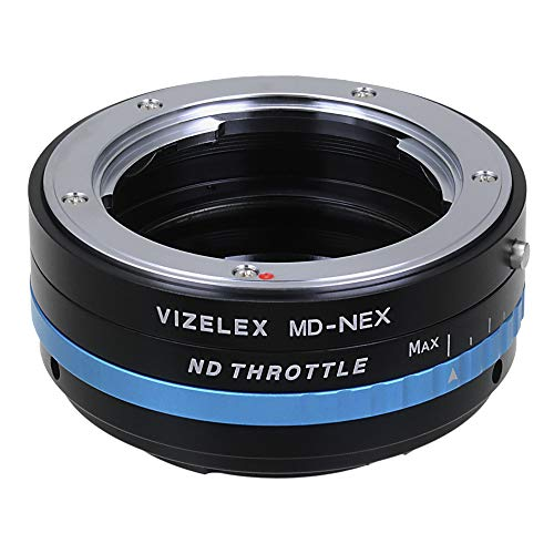 Fotodiox Pro Vizelex ND Throttle Adaptor de Montura de Lente con Filtro...