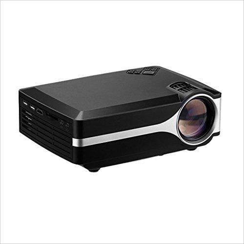 XHZNDZ Proyector portátil LCD Soporte de Cine en casa HD 1080P Video-MAX 100
