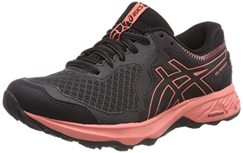Asics Gel-Sonoma 4 G-TX, Zapatillas de Running Mujer, Gris (Dark Grey/Papaya 020), 37.5 EU