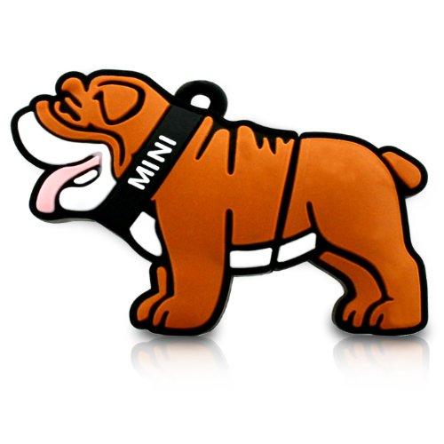 818-Shop No11400040064 Hi-Speed 2.0 USB-Sticks 64GB Hund Bulldog 3D braun
