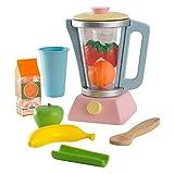 KidKraft 63377 Spielset Spielzeug-Set mit Smoothie-Mixer, Pastellfarben