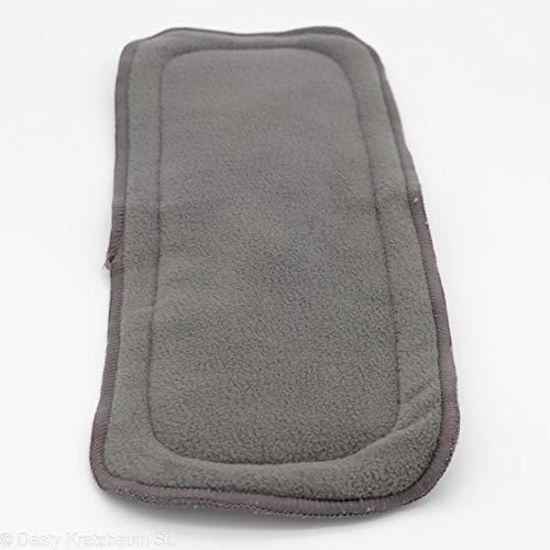 Carbonfaser Bambus Windeleinlage für Pocketwindeln 2er Set, extrem saugfähig