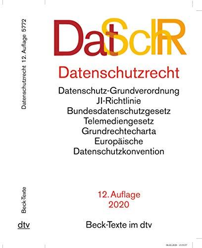 Datenschutzrecht (Beck-Texte im dtv)