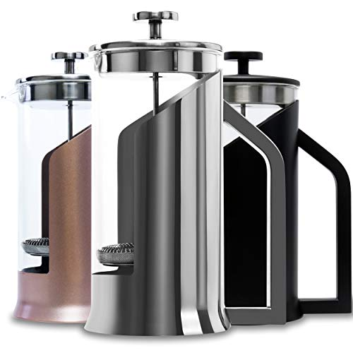 Lafeeca French Press Coffee Maker with...