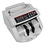 SSSY Contabanconote Automatico, Display LED UV/MG Multi-Currency Contabanconote con Rivelatore di Banconote False, Fino a 1000 Banconote/Minuto