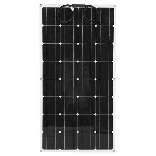 Solar Panels Tablero de carga monocristalino portátil semi flexible para el barco al aire libre 100W de RV