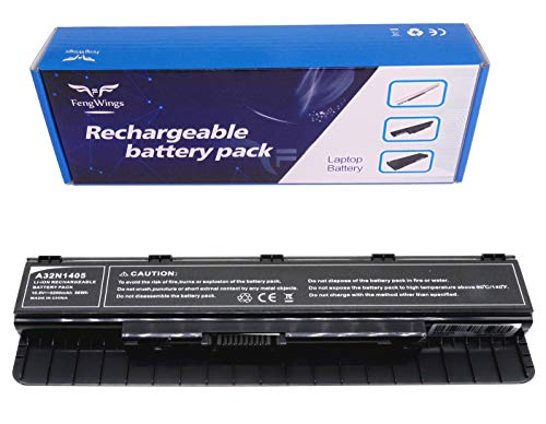 FengWings® Akku A32N1405 10.8V 5200mAh Ersetzen Batterie Kompatibel mit ASUS G551JX GL551JW GL551JX G771JW GL771JM GL771JW G58JM G58JW N551JB N551JW N551JX N551Z N751JK N751JX Akku