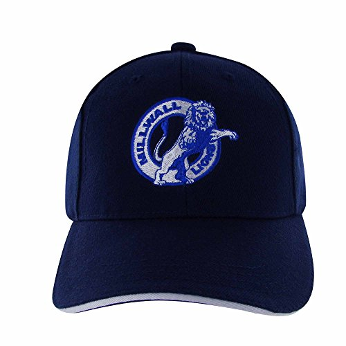 Adults Millwall FC Crest Embroidered Baseball Cap (100% Cotton & Adjustable)