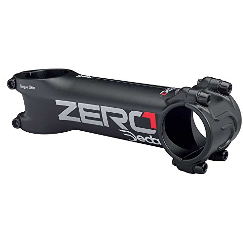 Potencia Deda Zero 1 Negro-Rojo - Medidas: 100mm