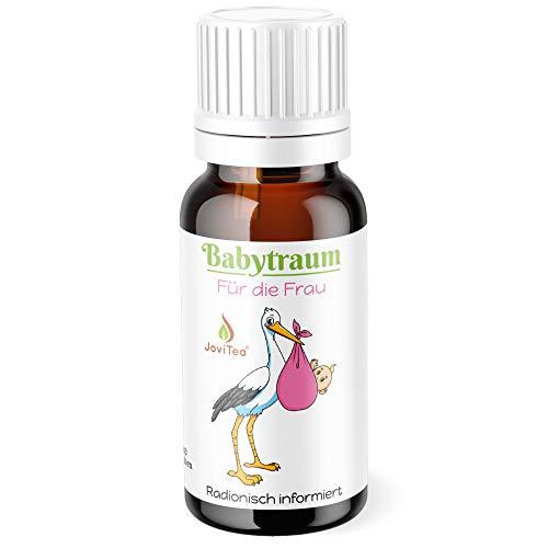 JoviTea® Babytraum Kügelchen für die Frau - Speziell in der Kinderwunsch Phase - traditionell natürliche Rezeptur - Made in Germany 10g