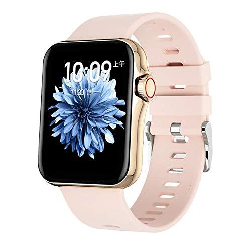 Generic Reloj inteligente para hombres y mujeres, resistente al agua IP67, rastreador de fitness, reloj digital, reloj inteligente para teléfonos Android iOS, color rosa