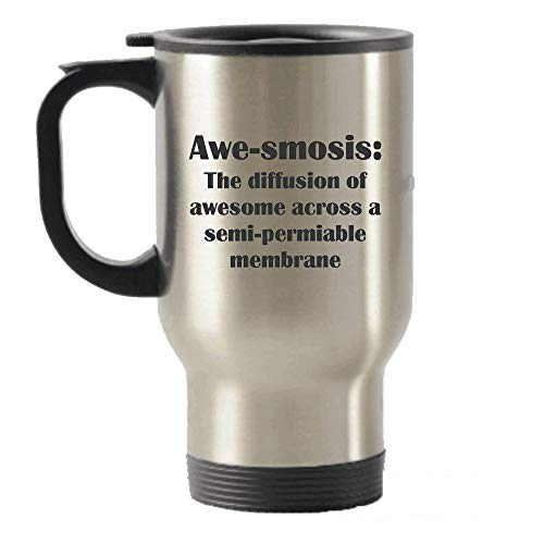 SpreadPassion awe-smosis: Die Verbreitung von Awesome in Einem Semi–permiable Membran Thermobecher Edelstahl