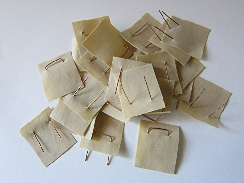 Okulations-Schnellverschluss, Okulette, 40 x 32 x 0,40 mm, selbst veredeln, 50 Stück