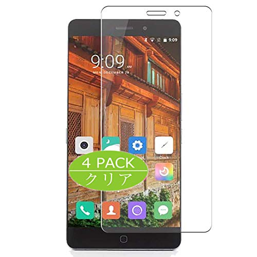 VacFun 4 Piezas HD Claro Protector de Pantalla para Elephone P9000, Screen...