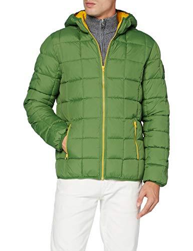 Wrangler The Puffer Chaqueta, Color Verde, L para Hombre