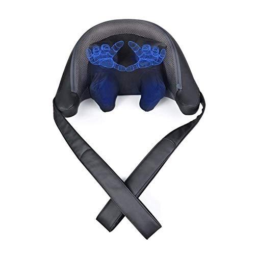 Amazing Deal QAZWSX Hand Kneading Shoulder and Neck Massage Instrument Neck Massage Pillow Back Leg ...
