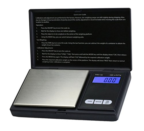 100g/0,01g Taschenwaage Feinwaage Digitalwaage Goldwaage Münzwaage Scale by DURSHANI