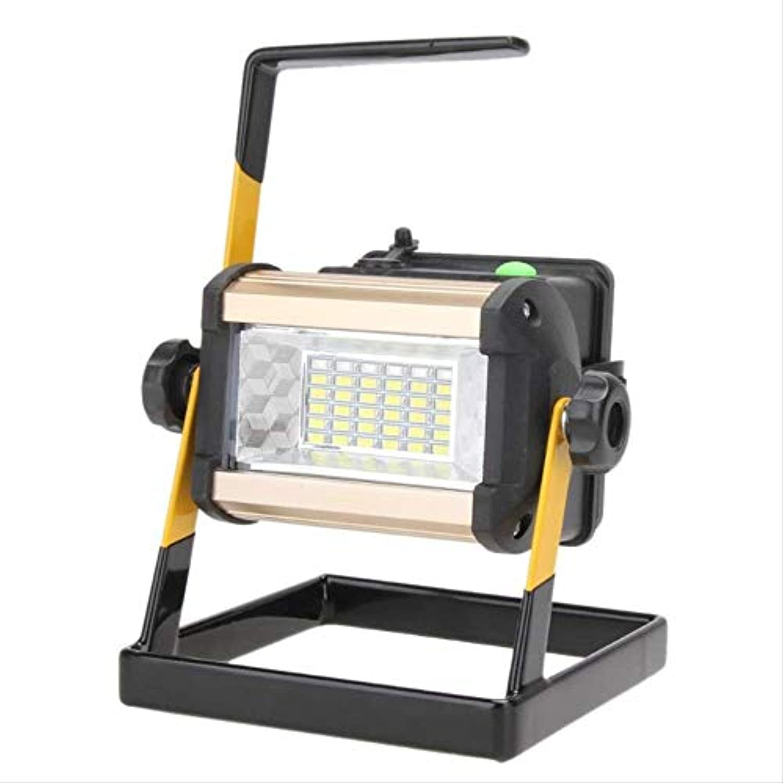 Strahler 50W 2400Lm Wiederaufladbarer Geführter Flutlicht-Tragbarer Scheinwerfer Führte Scheinwerfer Wasserdichte Ip65 36Led 3-Modus-Auenlampe