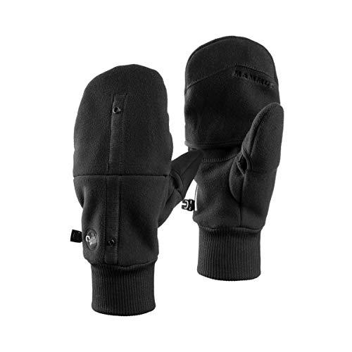 Mammut Guante Shelter Guantes, Unisex Adulto, Black, 22-23 cm
