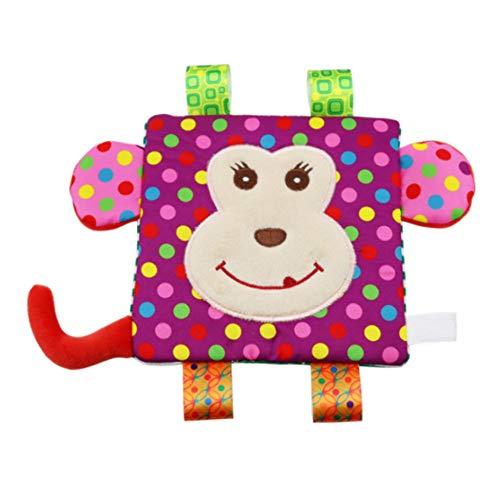 newin Star serviette réconfortante en peluche, peluche balles pendentif avec Sons Forme de tableau pour bébés sin-bpa pour réconfortante bébés nouveau-né