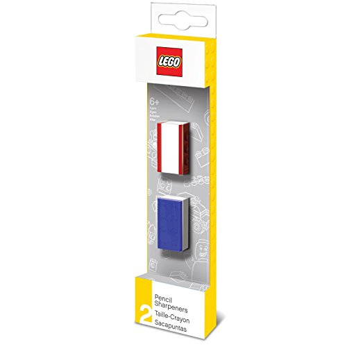 Lego 2 Count Pencil Sharpners