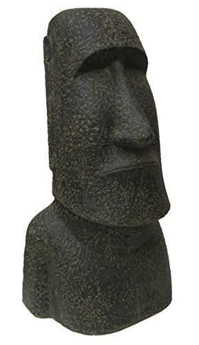 STONE art & more Moai, Osterinsel-Kopf, 120 cm, Steinfigur, Steinguss, frostfest