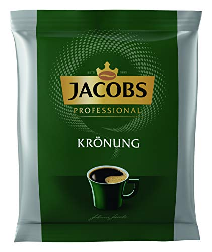 Jacobs Krönung Filterkaffee im Portionsbeutel, Großpackung mit 80 Stück (80x60g =4800g), gemahlener Kaffee, Portion für ganze Kanne Kaffee, Sparpack