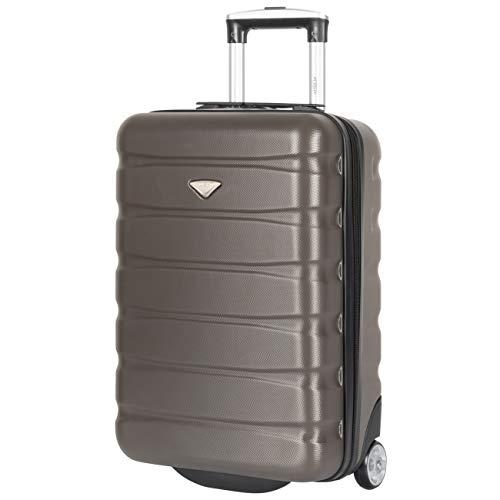 Flight Knight 21,5-inch 2-wielige lichtgewicht harde koffer voor handbagage Trolly British Airways easyJet Handbagage Goedgekeurd 55 x 35 x 20 cm