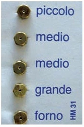Ariston Indesit Franke SMEG Gas-Düsen, 6 MB