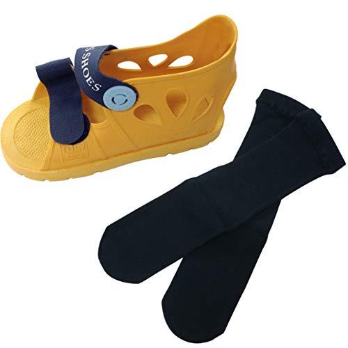 ギブスシューズSサイズとギブスに履ける靴下のセット 子供用
