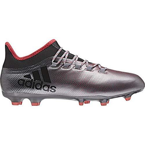 adidas X 17.2 FG, Chaussures de Football américain Homme, Gris Grey Cblack Reacor 000, 41 1/3 EU