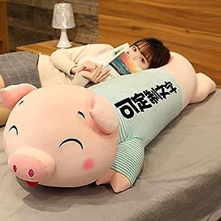 100cm schattige varken knuffel pop bed begeleiden je om te slapen met kussen lappenpop pop verjaardagscadeau meisje kind 1...