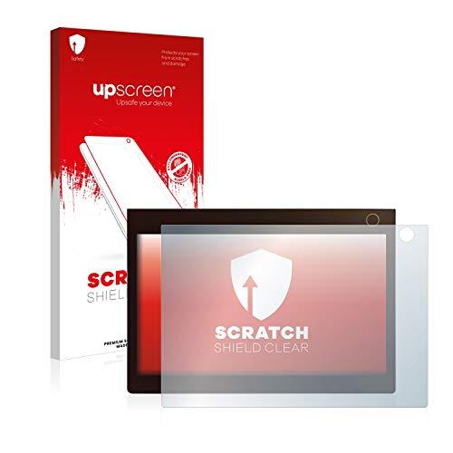upscreen Schutzfolie kompatibel mit Lenovo Yoga Book C930 (Bedienfeld) – Kristallklar, Kratzschutz, Anti-Fingerprint