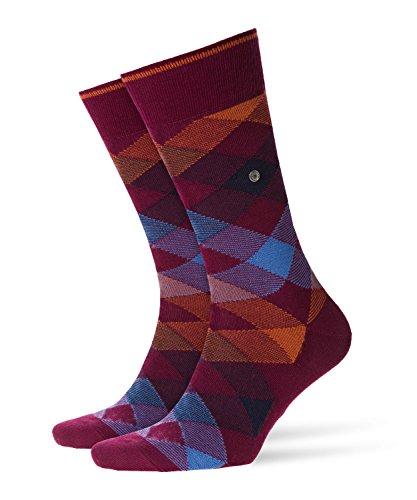 BURLINGTON Herren Socken Newcastle - Schurwollmischung, 1 Paar, Rot (Merlot 8005), Größe: 40-46