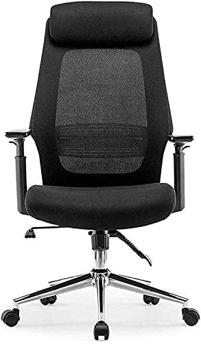 MHIBAX Silla para juegos Silla parajuegos, cómoda silla giratoria con elevación, silla de oficina, silla giratoria, silla de escritorio para computadora, respaldo alto, sil