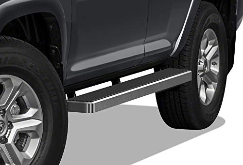 APS iBoard Running Boards 6 inches Compatible with Toyota 4Runner 2010-2016 Trail & 17-21 TRD Off-Road & 2014-2021 SR5 (Nerf Bars Side Steps Side Bars)