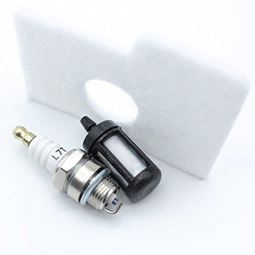 5pcs Blanc Filtre à air pour Stihl 017 018 MS170 MS180 Tronçonneuse Remplacement 11301240800