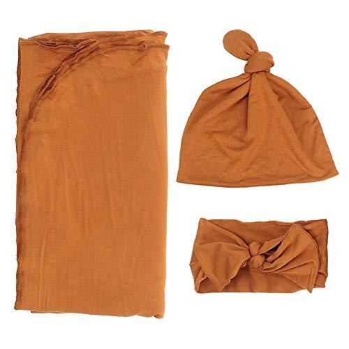 Josopa wikkeldoek voor pasgeborenen met hoofdband