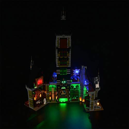 TETAKE Beleuchtung LED Licht für LEGO Geisterhaus aus dem Jahrmarkt, Schön Licht-set für Lego 10273 Haunted House (Nicht Enthalten Lego Modell)