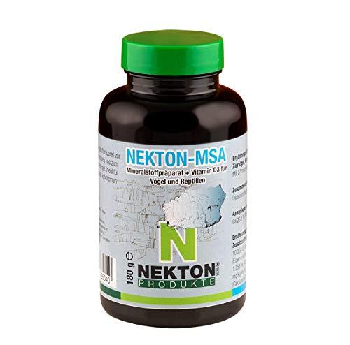 Nekton MSA Mineralstoffpräparat + Vitamin D3 für Vögel und Reptilien, 180 g