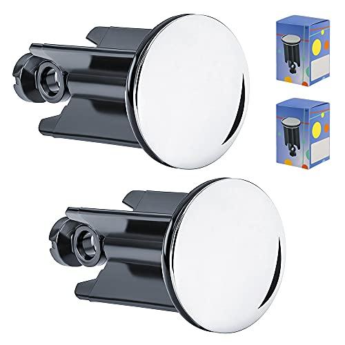 IWILCS Lot de 2 bouchons de vidange de qualité pour lavabo de salle de bain