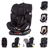 Chipolino, Kindersitz Journey, Gruppe 0+/1/2/3 (0-36 kg), Isofix, Top Tether, Farbe:schwarz