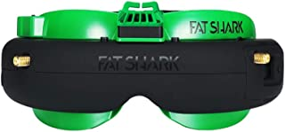 2019 Latest Version! Fat Shark Attitude V5 FSV1049 OLED FPV Goggles Fatshark Headset with DVR and 5.8Ghz Dual Receiver FANCYWING