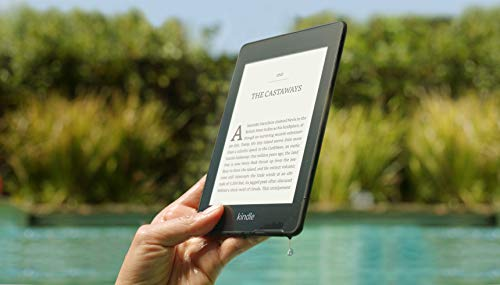 Kindle Paperwhite | Waterproof, 6' High-Resolution Display, 8GB—with Ads—Black
