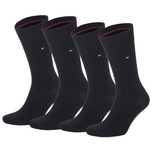 Tommy Hilfiger Socken Classic, Black, 39-42 - 4er Pack/Paar